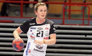 Viola Paulsen ledde VästeråsIrsta till seger från sin position som mittnia.