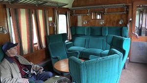 Så här fin är en av förstaklassvagnarna som skickas till Gävle.