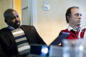Artan Dhiblawe från Somalia, som driver företaget Artan Health Care Nordic AB, och Mohammad Yazdani, som driver företaget Tandakuten.