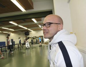– Buller är det största problemet, säger idrottslärare Mats Ek, Norrtullskolan.