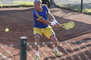 Conny Strömberg vann fyra matcher innan en skada satte stopp för vidare spel.