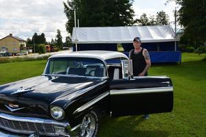 Alvar Olsson hoppas på fler bilar som kan ge den rätta känslan för rockfesten.