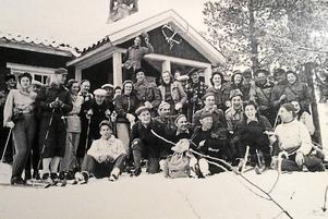 Besökande Kliss en söndag på 1950-talet.