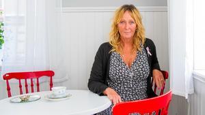 – Jag har tränat för att jag inte ska dö, förklarar Pamela Andersson. Nu när tumören är borta behövde hon ett träningsuppehåll för att på nytt kunna njuta av träningen.