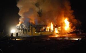 IT-Komponenter i Limhagen totalförstördes vid en brand på lördagskvällen. Foto: Annki Hällberg