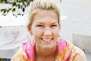 Emmy Bengtsson, 18 år från Östersund: