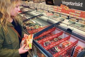Inte alltid det billigaste alternativet. Enligt Jennifer Fredriksson är det billigare att vara vegetarian än att äta kött då det senare är