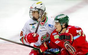 17-årige Adrian Kempe gjorde 1–0 mot Frölunda och låg sedan bakom det matchavgörande 2–1-målet.