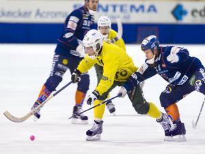 Ljusdals Oscar Jonsson nätade på hörna. Målet betydde 4–2.