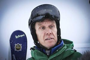 Ola Rockberg, utbildningsledare på skidlärarutbildningen i Åre kan andas ut nu när utbildningen räddas.