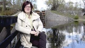 Carina Bergqvist Janzon,  vd på Strömsholms kanal, välkomnar förslaget om miljonlån för att restaurera piren i Semla.