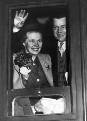 Alva och Gunnar Myrdal.