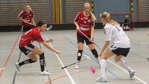 Emma Adolfsson och Frida Mattson bidrog till segern i Fagerstahallen.