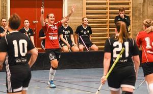 Evelina Molnar blev stor matchhjälte i seriepremiären när hon satte matchens enda mål för sitt Per Ols i matchen mot Skälby.