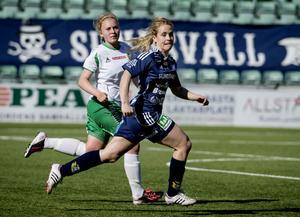 Emma Jonsson gjorde comeback och visade att hon fortfarande har bra klipp i steget.