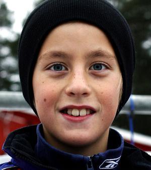 – Wayne Gretsky för han var en bra passningsspelare.Willy Ericsson, 10, Essvik.