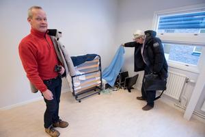 I startskedet. Tommy Flodqvist och Hans Hellman på Arbetslivskraft vill dela med sig av sina kunskaper till arbetssökande som vill starta egen verksamhet.