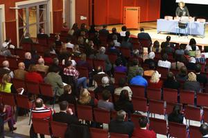 Intresset var stort för tisdagens seminarium på Bollnäs folkhögskola.