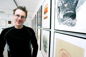 John Rasimus, en av grundarna till Galleri Se Konst. Foto: Arkivbild