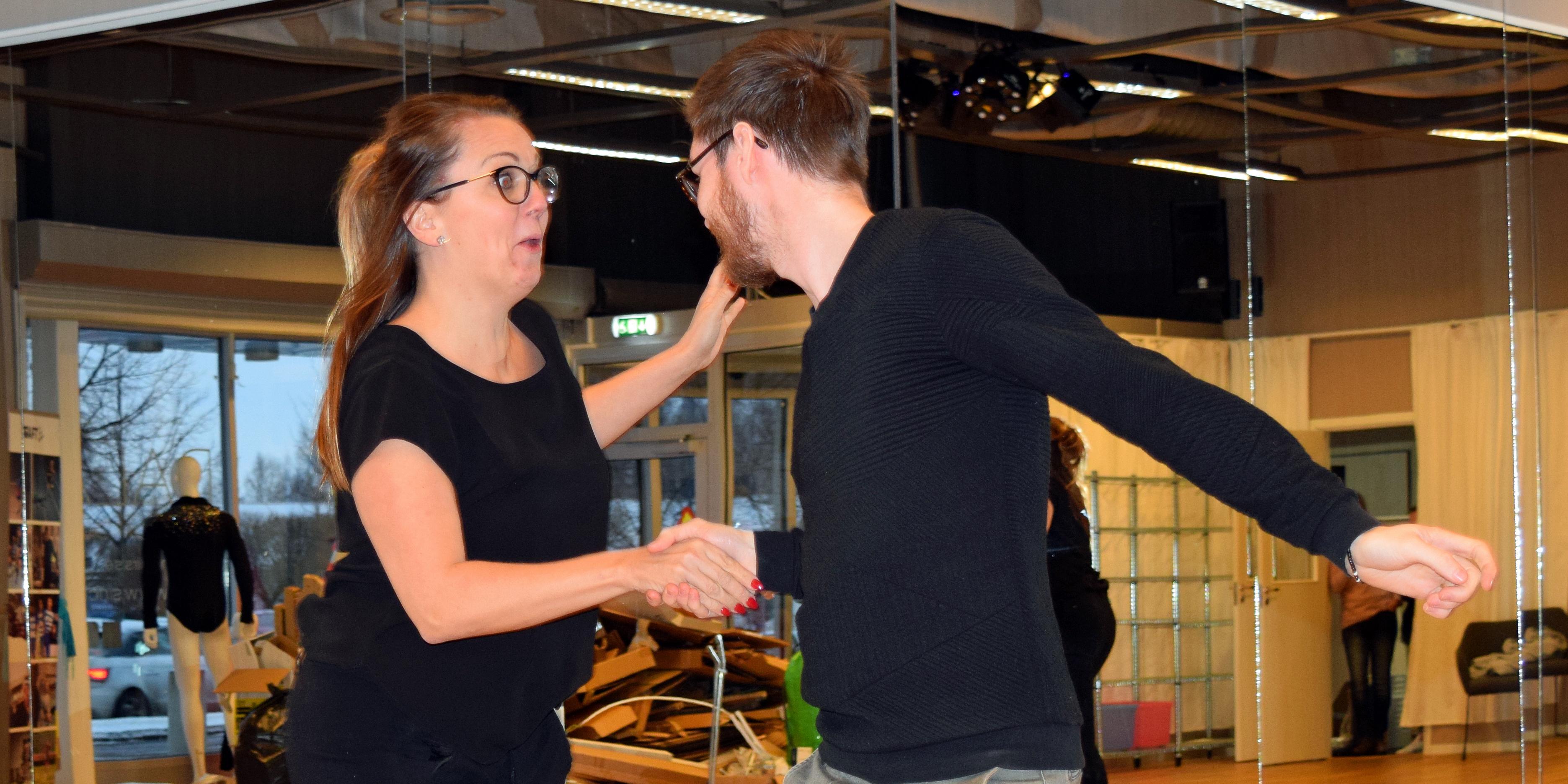 Jessica Kåla och Thomas Gilén står bakom satsningen.