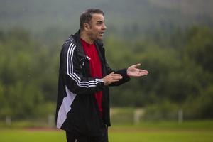 Tränaren Ismail Kizilkaya var besviken efter torsdagens match.