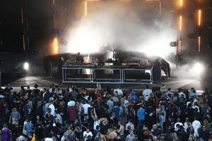 Festivalens största område vid Dalhallas scen.