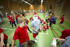 Gymnastikläger i Ockelbo fyller 55 år och årets tema var smurfarna.