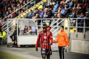 Modou Barrow har gjort fyra mål och spelat fram till ytterligare två i superettan. Han har snabbt etablerat sig som en offensiv nyckelspelare i ÖFK.