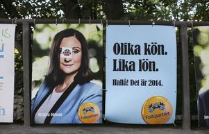Birgitta Ohlsson var Liberalerna (Folkpartiets) affischnamn i valet 2014.