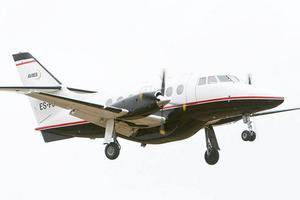 Det är flygplan av den här typen, Jetstream, som Avies flyger.