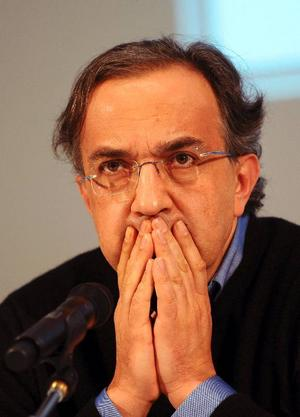 Fiats vd Sergio Marchionne.