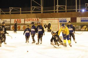 Bollnässpelaren Per Hellmyrs kom till SAIK:s ungdomslag och hyllade projektet Skidskoskoj.