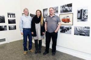 Göran Omnell, fotograf, Maggis Frisk, museiintendent och Lars-Erik
