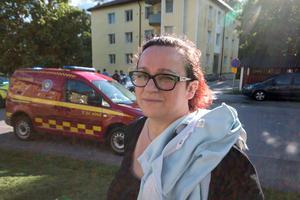 Anna Cejer är orolig över utvecklingen på Hantverksvägen, och nu vet hon inte om hon och familjen vågar bo kvar.