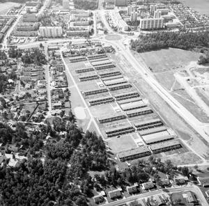 Radhus på Brandthovda, bilden togs i augusti 1968.