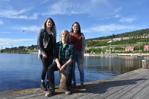 Evelina Edin, Filip Westerström och Linnea Byström driver sitt eget företag.