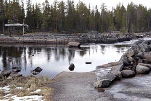 Området kring Björnån är naturskönt.
