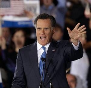Mitt Romney kan bli president Barack Obamas motståndare i presidentvalet i november.