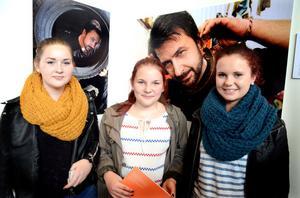 Matilda Johansson, Gina Bäck och Lina Eriksson drömde om andra yrken än de som var representerade i Vasahallen.