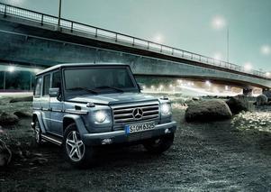 Efter 30 år är Mercedes G-Klass still going strong. Foto: Daimler