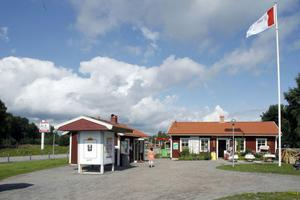 Delar av rastplatsen i Stavsäter, Ljusdal, är nu till salu.