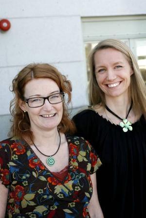 29 tävlingsbidrag har Britt-Marie Berglund och  Annika Thyrestam fått in till tävlingen om nya utemiljöer vid äldreboendena.