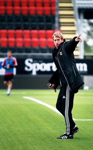 Graham Potter är nöjd med spelarnas prestationer efter matchen mot AIK på torsdagen. Det bådar gott inför nästa säsong.