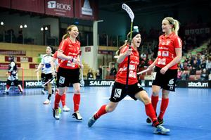 Före detta landslagsforwarden Therese Strömberg är tillbaka i IBF Falun. Foto: Arkiv