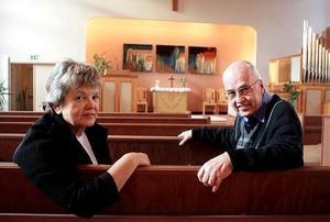 Eva Backman och Roland Egegren har tillsammans gjort en skrift med en historisk tillbakablick till Sollefteå missionsförsamlings 125-årsjubileum.