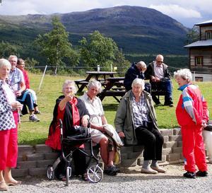 Deltagarna fick en härlig dagsresa i Västjämtland.   Foto: Max Pettersson