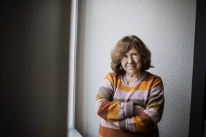 Årets Nobelpristagare har fått många bevis för att hon är läst och älskad på hemmaplan.