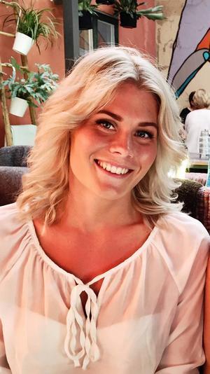 Linnea Åkerlund, 23, från Sundsvall.