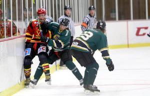 Robin Ehn var en hårding på bandyisen och lyckades med framgång överföra den spelstilen till sin nya karriär som hockeyspelare i Alfta.