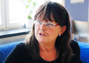 – Jag vill att folk ska engagera sig, säger Kerstin Jacobsson från Rädda Barnen och lärare på Fagervalsskolan.Foto: Mattias Moberg